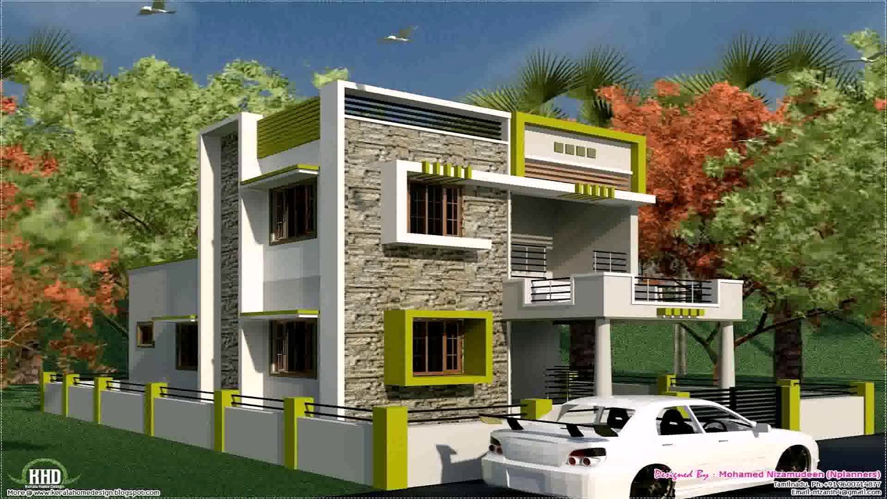 Indian Small House Front Elevation Photos Balcony Grill