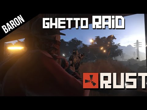 Rust RAID & Shootouts in the Ghetto - Rust Multiplayer Part 2
