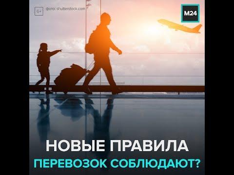 Как соблюдают новые правила перевозок пассажиров — Москва 24