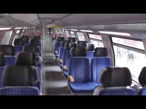 Einfahrt RE Bahn von Schaffhausen nach Singen weiter nach Stuttgart Hbf