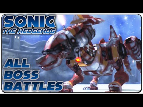 Sonic The Hedgehog 2006 All Bosses