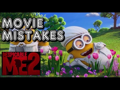 22 Movie Mistakes - Despicable Me 2, flubs, blunders, everything wrong with, goofs, misses, fail