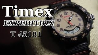 Timex Expedition T45181. Распаковка и обзор.