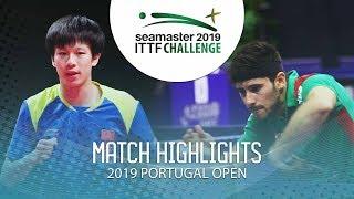 Lin Gaoyuan vs Joao Geraldo | 2019 ITTF Challenge Plus Portugal Open Highlights (R32)