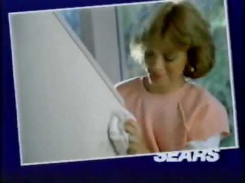 1985 Sears Easy Living Paint Commercial