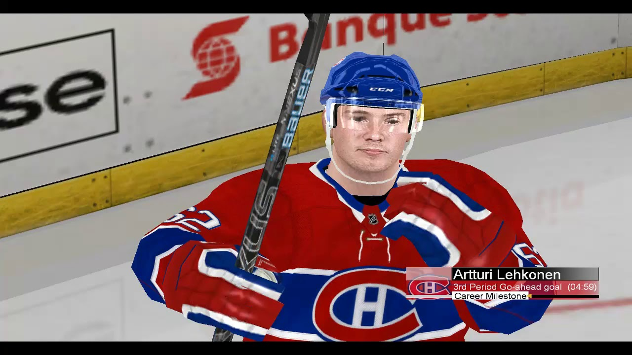 NHL2004 Rebuilt 2020 Dynasty - Montreal Canadiens CPU vs CPU Vancouver Canucks - Game 10