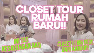 WALK IN CLOSET TOUR.. SPECIAL 2 JUTA SUBSCRIBERS | DIARY PRILLY