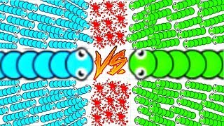 SNAKE BATTLE - EPIC GAMEPLAY!!! - THE NEW SLITHER.IO - SNAKE BATTLE ONLINE (HD)