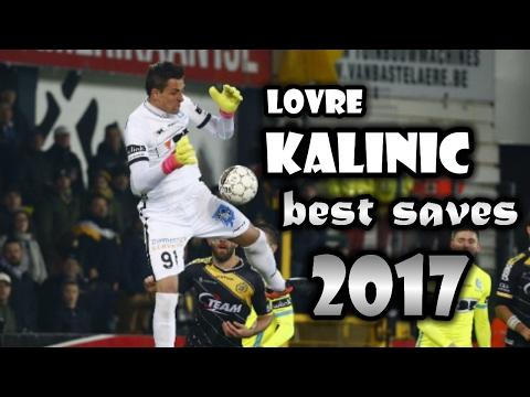 Lovre Kalinic - Kaa Gent - Best Saves 2017