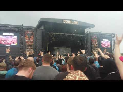 Disturbed Down with the sickness Download Festival 2016