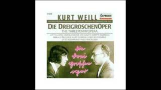Die Dreigroschenoper - Kurt Weill 04 Ballade vom angenehmen Leben (Harald Paulsen) - 1928