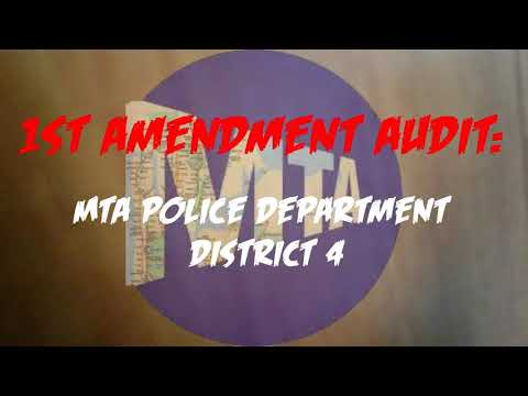 MTA Police 1st Amendment Audit Police Station In Penn Station NYC QuietBoyMusik
