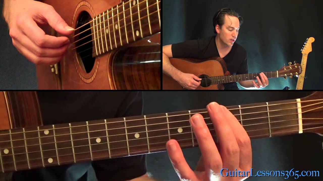 Maybe Im Amazed Guitar Lesson Paul Mccartney Youtube