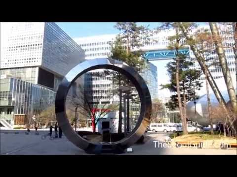 A walk through of the newly constructed Digital Media City (DMC), Seoul, South Korea