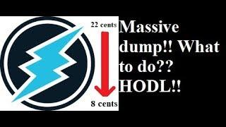 Electroneum - Massive dump!! || Reasons? || Don