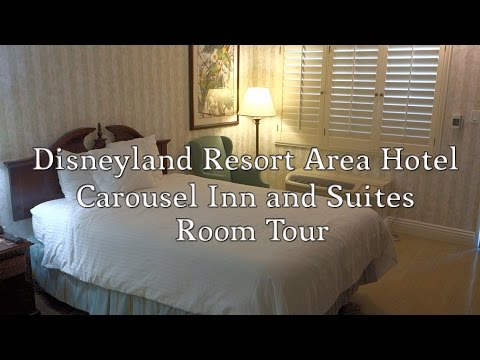 Carousel Inn and Suites Room Tour - Disneyland Area Hotel