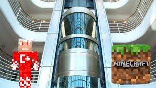 Minecraft Pe 0.15.0[0.16.0] icatlar #3 (gerçeğimsi asansor yapımı )