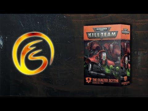 Unboxing Exalted Scythe: Necron Starter Set  - Warhammer 40,000 Kill Team Review