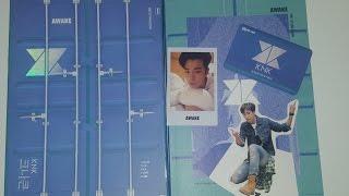 knk awake 1st mini album unboxing