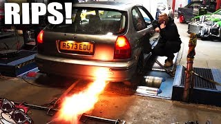 🐒 WE CREATED A TURBO MONSTER! HONDA CIVIC B18 BUILD EPISODE 20
