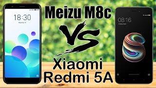 Meizu M8c VS Xiaomi Redmi 5A? Сравнение камер, игры.