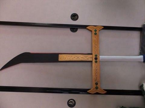 100均のみで作るコスプレ用武器(ワンピース:ミホーク)