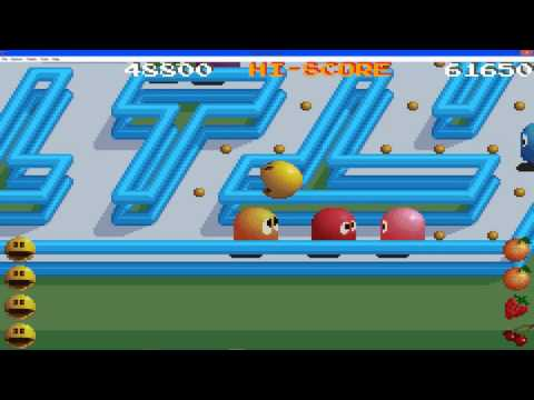 Pac Man Collection Gameplay Pac Mania Part 3
