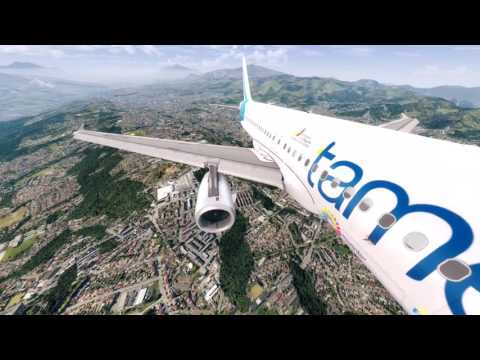 A320 Tame Flight from Lima to Quito