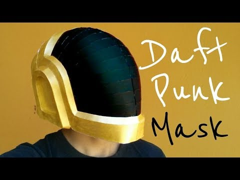 Download Cómo hacer un casco de Daft Punk con papel opalina   Momuscraft