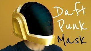 Cómo hacer un casco de Daft Punk con papel opalina | Momuscraft