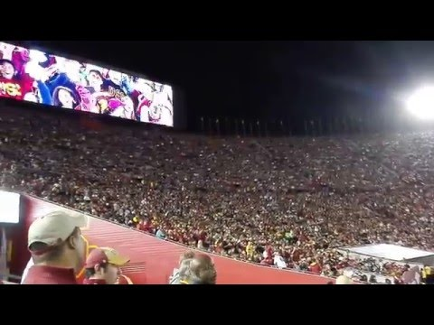 Los Angeles Coliseum / Panoramic view / 2015