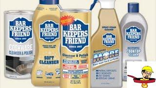 Bar Keepers Friend - Sản phẩm làm sạch đa năng mới