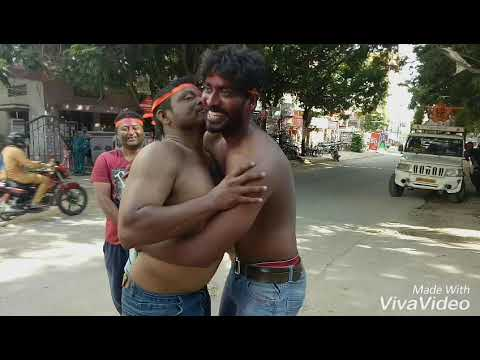 Galli ka ganesh 2017 Ganesh nimarjanam with rahulsiplagunj song
