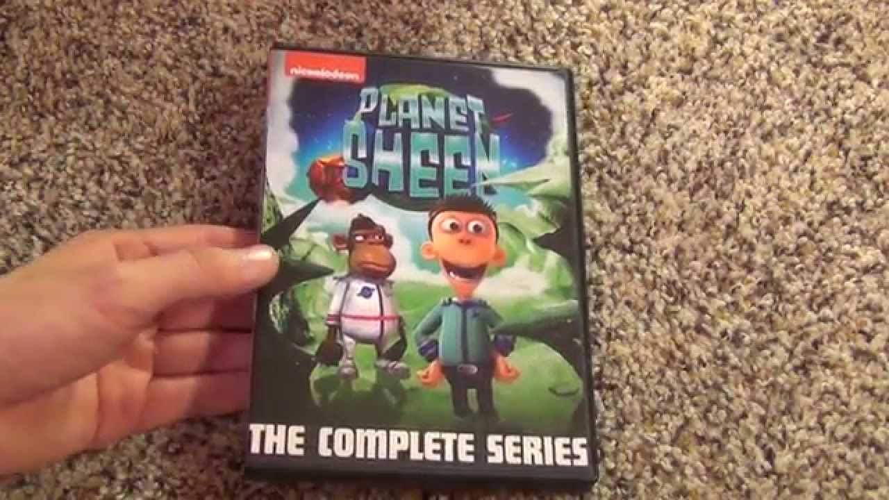 Nickelodeon Planet Sheen The Complete Series Dvd Unboxing