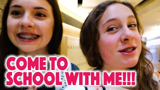 COME TO SCHOOL WITH ME school VLOG.