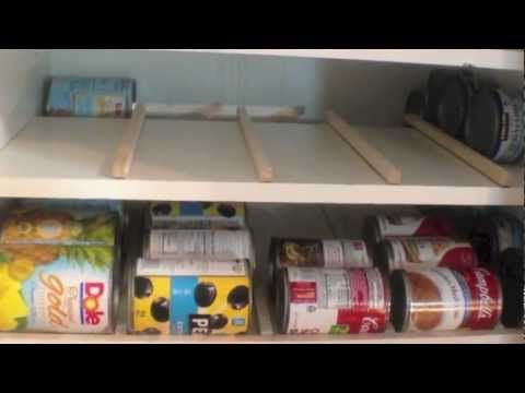 Food Storage Can Rotation Solution