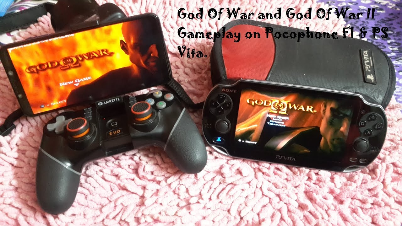 Pocophone F1 God Of War I & II Gameplay Damon PS2 pro emulator v 1 3 PS  Vita Snapdragon 845