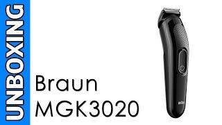 Braun MGK3020 6-in-1 Multi Grooming Kit Unboxing