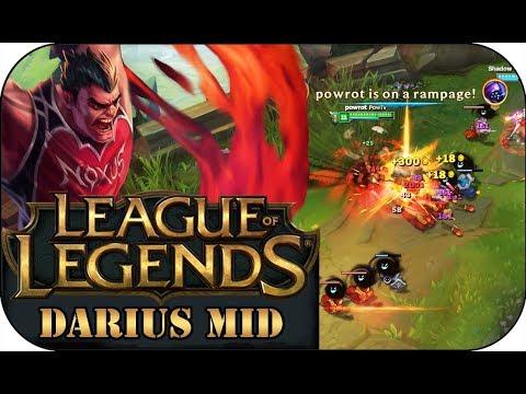 GG ER TROLLT! DARIUS MID 🎮 League of Legends Gameplay PowrotTV