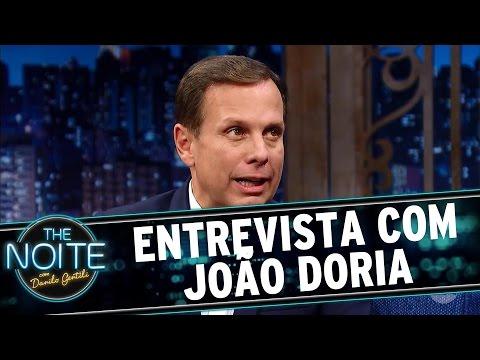 The Noite (08/11/16) - Entrevista com João Doria