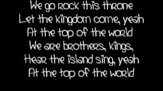 Top of the world- Mitchel Musso [lyrics]
