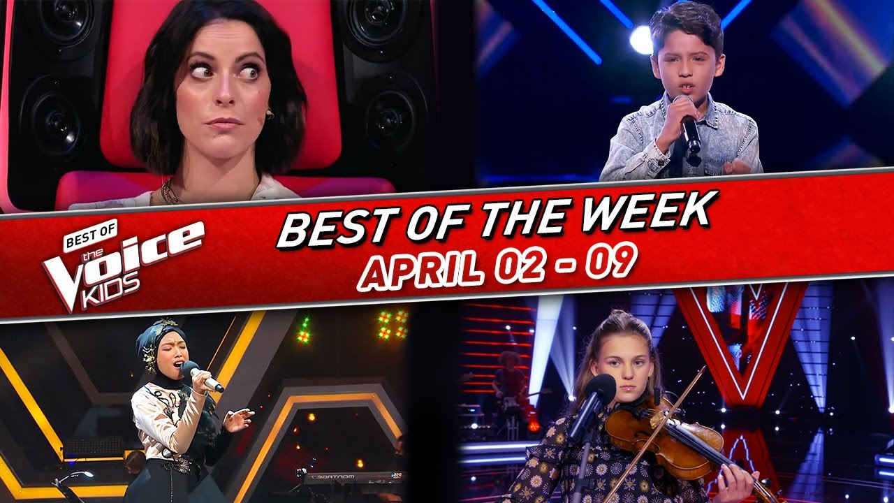 😍The BEST of the WEEK in The Voice Kids #3! | 📆02 - 09 April 2021