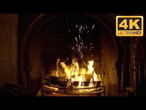 ★-★-★ THE BEST 4K SMART TV Fireplace Video EVER! ★-★-★