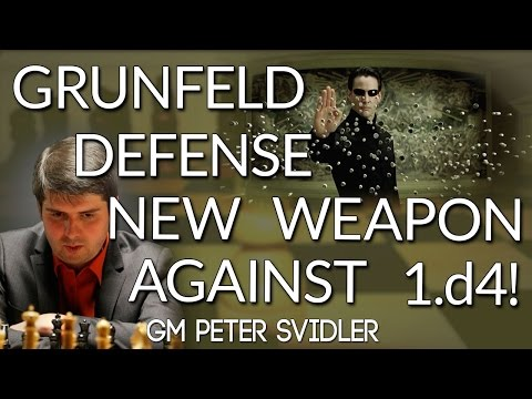 Grunfeld Defense Theory Taught by Super GM Peter Svidler! - CHESS24