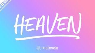 Heaven (Piano Karaoke Instrumental) Avicii