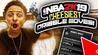 ULTIMATE DRIBBLE CHEESE TUTORIAL •BEST DRIBBLE MOVES/COMBOS •BECOME A DRIBBLE G0D INA DAY NBA 2K19😱