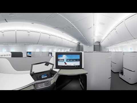 Air Canada Signature Class in 360 // Classe Signature Air Canada en 360