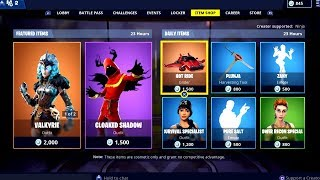 Fortnite ITEM SHOP 14 February 2019 ( Valkyrie Skin + Cloaked Shadow Skin Available)