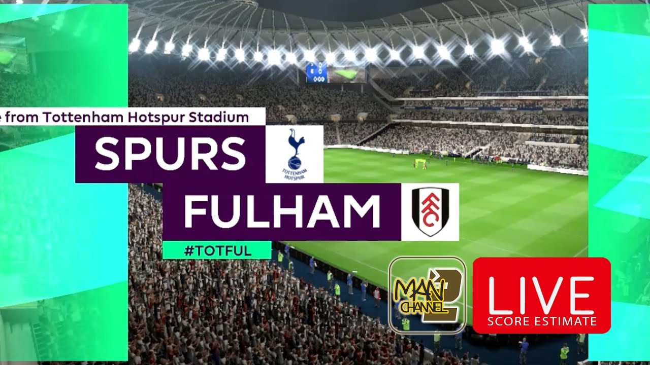 Tottenham Hotspur vs Fulham | 14/01/2021 - YouTube