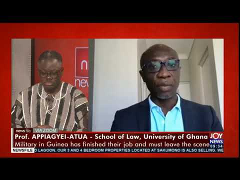 Guinea coup: We need to applaud the military for the step they took - Prof. Appiagyei Atua